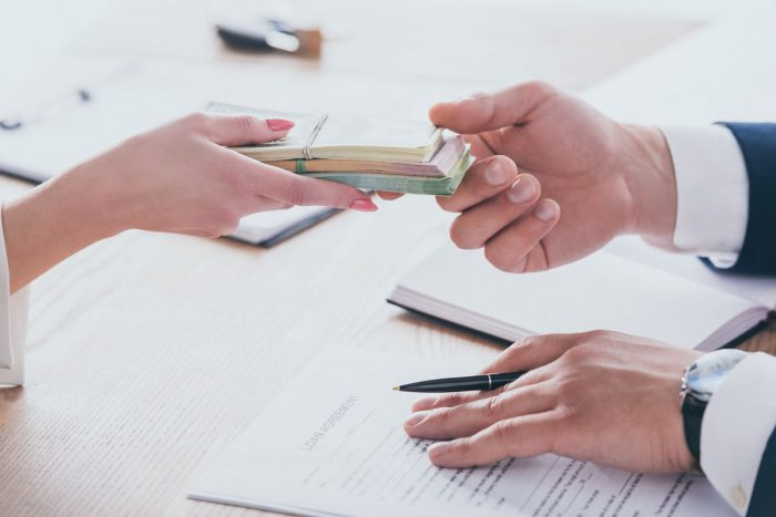 Demande de prêt d'argent rapide